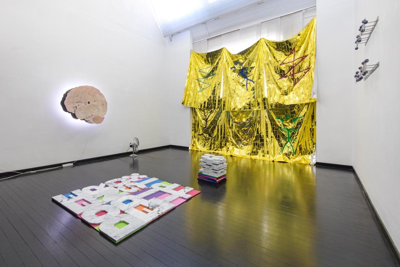 Michele Chiossi DETTO DI PENSIERO, 2018 installazione scultura arte contemporanea