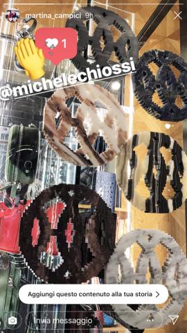 "Michele Chiossi scultura JAIPUR H, 2018 ""ARTYVISME"" boutique Vivienne Westwood Milano zigzag labirinti fashion arte contemporanea"